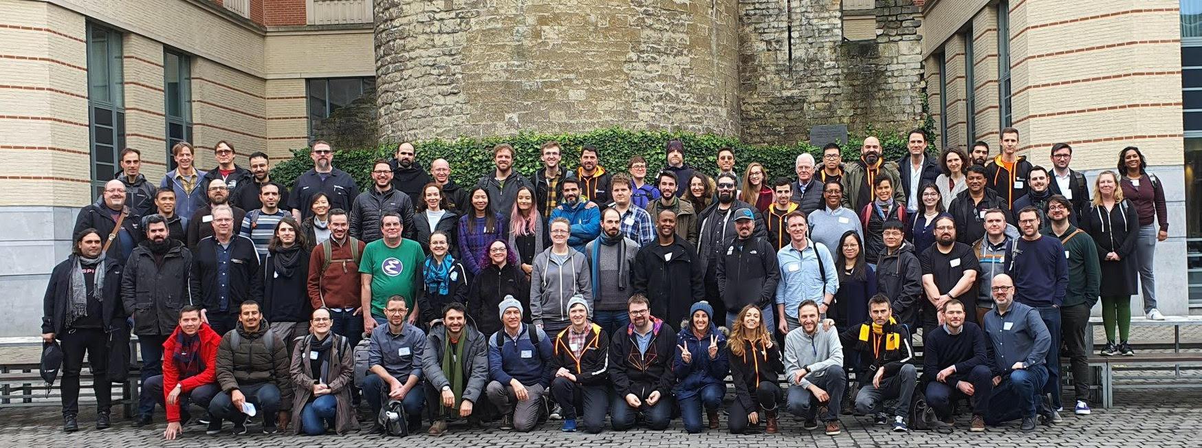 Group Photo CHAOSScon Europe 2020